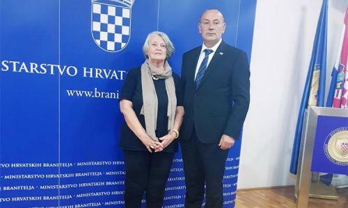 Ministar Medved primio majku Jeana-Michela Nicoliera