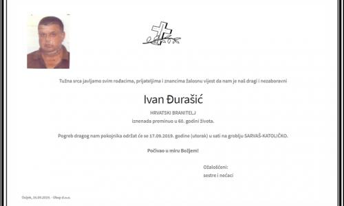 Posljednji pozdrav ratniku - Ivan Đurašić