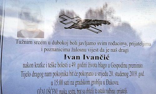 Posljednji pozdrav ratniku - Ivan Ivančić