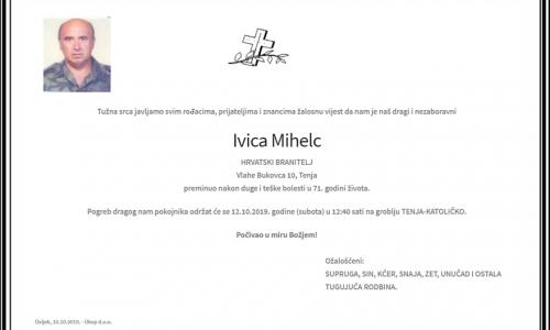 Posljednji pozdrav ratniku - Ivica Mihlec