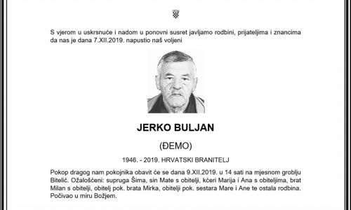 Posljednji pozdrav ratniku - Jerko Buljan