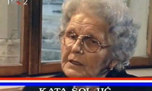 23. veljače 1922. Kata Šoljić – hrvatska Majka Hrabrost