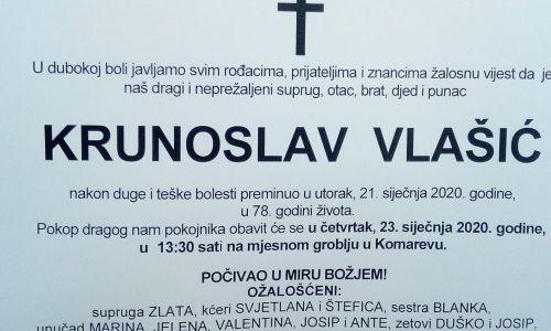 Posljednji pozdrav ratniku - Krunoslav Vlašić