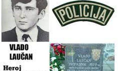 Prvi ubijeni policajac u zapadnoj Slavoniji – Vlado Laučan