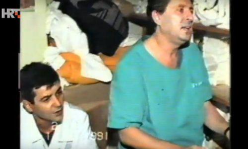 27. rujna 1991. Zločini srpske agresorske vojske – razarali bolnice zaštićene Ženevskim konvencijama kao vojne ciljeve što svijet do tada nikada nije vidio