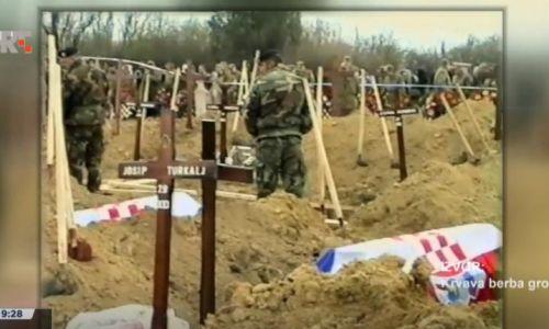18. listopada 1991. Zločini srpske vojske (Lovas) – četnici natjerali 51 Hrvata u minsko polje