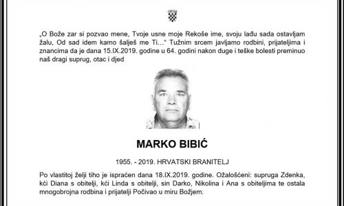 Posljednji pozdrav ratniku - Marko Bibić
