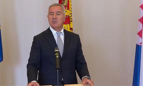 Đukanović: 'Srpski svijet' umanjenica je za velikosrpsku politiku