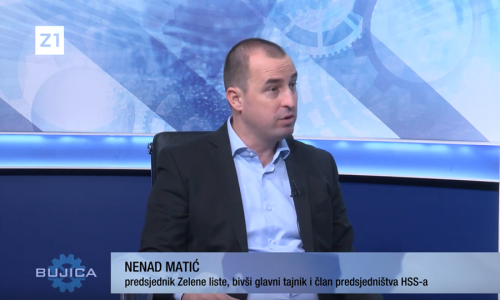 """VIDEO! NENAD MATIĆ U BUJICI: """"Pupovac je u uvredama na račun Hrvatske amater za Krešu Beljaka"""
