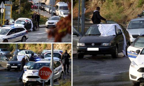 Ubojstvo u Omišu: Muškarac na motoru upucao vozača auta  - video