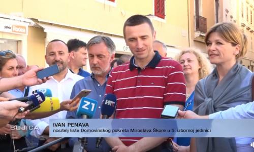 """Ivan Penava sa Škorom u Dalmaciji: """"Kada svi pobjegoše iz Zadra, eto nas u Zadru!"""""""
