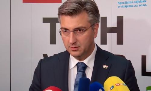 Plenković: Glas za Škoru glas je za Milanovića