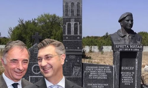 Stvorili smo bolesno društvo, dva kilometra od spomenika Blagi Zadri je spomenik Šoškoćaninu