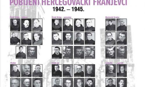 Simpozij 24. listopada u Širokom Brijegu podsjeća na nezaboravljenih 66 ubojstava hercegovačkih franjevaca