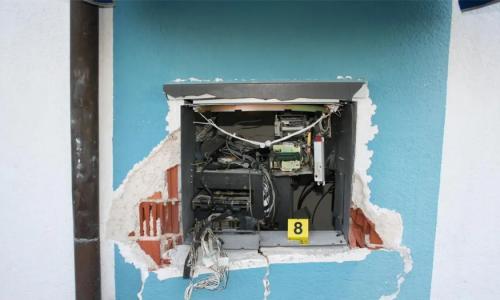 Raznijeli bankomat u Donjoj Bistri, policija traži razbojnike