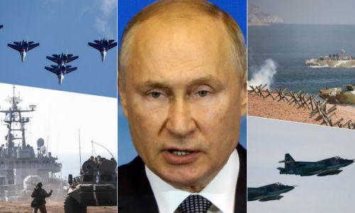 SIGNAL ZA UZBUNU, ZVECKANJE ORUŽJEM: Ruska flota izvela desant i artiljerijski napad, s vojnih aerodroma poletjelo više od stotinu aviona!