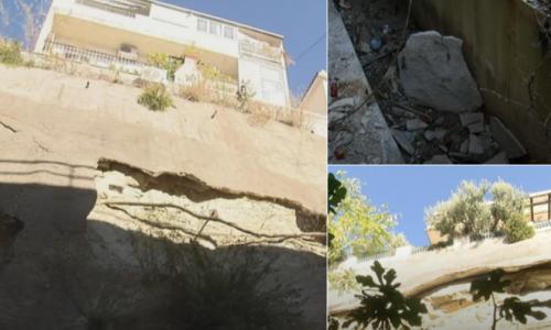 (FOTO) KUĆA U SPLITU SAMO ŠTO NE PADNE S LITICE! Stanari bijesni na grad: 'Bio je potres, odronjava se litica na kojoj živimo 25 godina!'