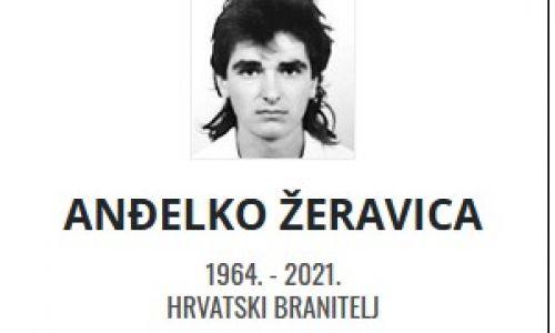 Anđelko Žeravica - Hrvatski branitelj 1964. - 2021.