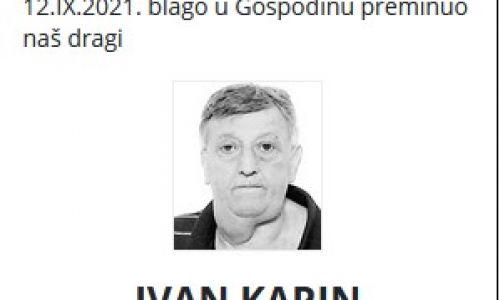 Ivan Karin - Hrvatski branitelj 1955. - 2021.