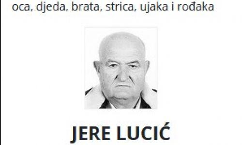 Jere Lucić - Hrvatski branitelj 1950. - 2021.