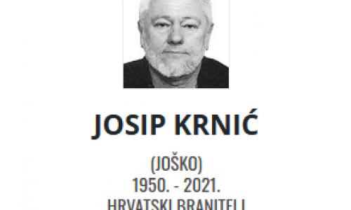 Josip Krnić - Hrvatski branitelj 1950. - 2021.