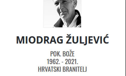 Miodrag Žuljević - Hrvatski branitelj 1962. - 2021.