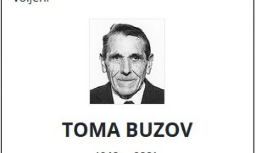 Toma Buzov - Hrvatski branitelj 1940. - 2021.